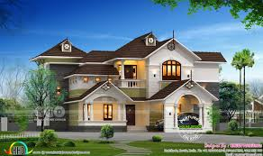 awesome 4 bedroom home plan kerala home design and floor plans