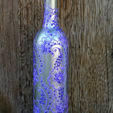 Blue Bottle Vase Shop Wine Bottle Vase On Wanelo