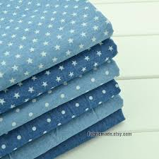 Light Cotton Fabric Pre Washed Denim Cotton Fabric Summer Light Weight Denim