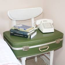 suitcase side table diy dream a little bigger