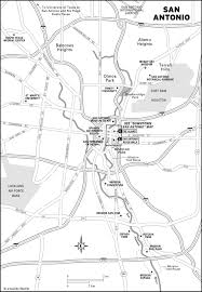 Map Of San Antonio Tx San Antonio Texas Tourist Map San Antonio Texas U2022 Mappery