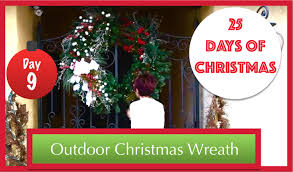 diy christmas wreath decorations day 9 of 25 days of christmas