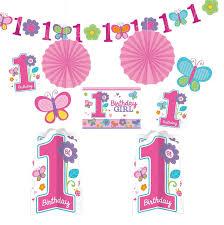 1st birthday girl sweet birthday girl party baby 1st birthday decorations tableware