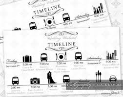 printable wedding timeline template wedding itinerary