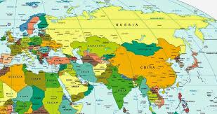 africa e asia mappa asia europe map world maps political physical satellite africa