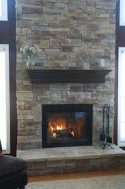 red brick fireplace painted white modern ideas nice color paint