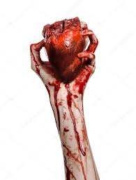 halloween blood background blood and halloween theme terrible bloody hand hold torn bleeding
