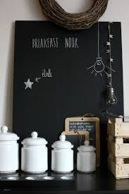 tableau cuisine ardoise peinture murale blanche avec peinture ardoise craie deco avec