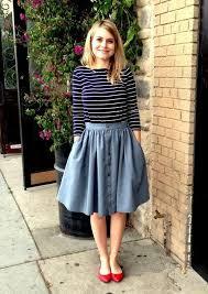 25 ways to wear denim skirts 2018 fashiontasty com