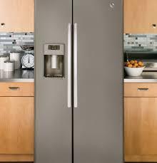ge 25 9 cu ft side by side refrigerator gse26hmees ge