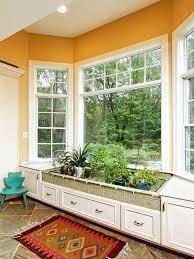 kitchen garden window ideas kitchen designs interesting idea for bay window area with indoor