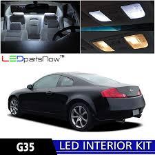 2006 Infiniti G35 Coupe Interior Amazon Com Ledpartsnow 2003 2007 Infiniti G35 Coupe Led Interior