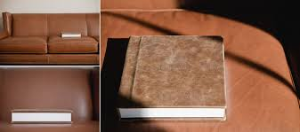 custom leather photo album custom photography albums rustic leather for road trip