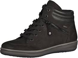 womens tex boots sale ara s miami tex high top trainers black shoes ara shoes