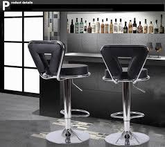 shop bar stool black color bar stools wine cabinet chairs free shipping shiduo