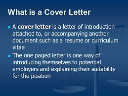 how to write an effective cover letter and resume ppt download