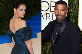 the case for jamie foxx and katie holmes to run the f b i