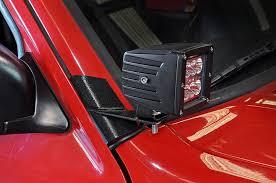 Led Light Bar Mounts Dodge Ram Sidetracked Offroad Led Mounts And Accessories Sidetracked Offroad