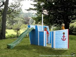 Pirate Ship Backyard Playset by 164 Best Swing Sets Forts Tree Houses Images On Pinterest