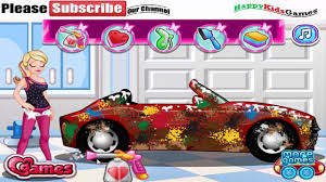 barbie games teen barbie car wash and decoration play free