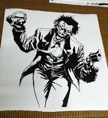 aliexpress com buy heath ledger joker wall sticker dc marvel aliexpress com buy heath ledger joker wall sticker dc marvel comics superhero vinyl decal home interior decoration room art mural from reliable marvel