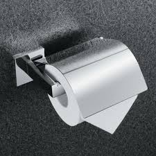 Stainless Steel Toilet Pan Kes Sus304 Stainless Steel Toilet Paper Roll Holder With Cover