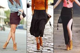 how to wear ankle boots with jeans skirts and dresses style wile