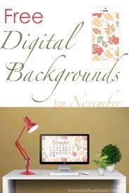 free digital backgrounds for november a houseful of handmade