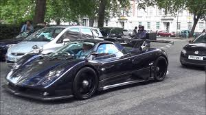 new pagani new car 2015 pagani zonda 760 vr roadster revs and amazing