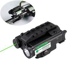 laser and light combo military level compact green laser sight with 500 lumen led light