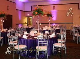 Linens For Weddings Chicago Table Linens For Rental In Deep Purple In The Lamour Satin