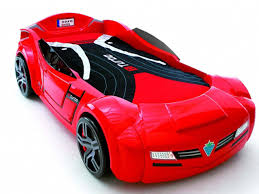 Kids Car Blinds Cool Red Childrens Racing Car Bed With Mattress Beside Window Also