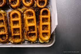 mac and cheese waffles i am a food blog i am a food blog