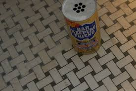 Cleaning Old Tile Floors Bathroom by It U0027s A New Old Bathroom Floor U2013 Bungalow Chronicles