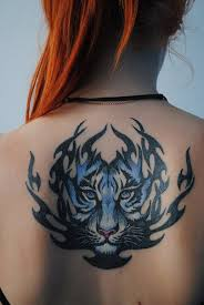 blue tiger back tribal best ideas gallery