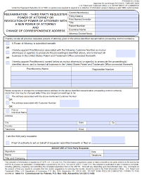 State Of Maryland Power Of Attorney Form by 2222 Address Of Patent Owner