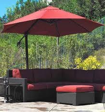 Lowes Patio Umbrellas 7 Offset Patio Umbrella Lowes To Decor Your Outdoor Space