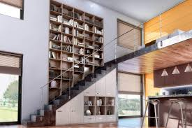 Placard Sous Escalier Avec Tablettes Placard Sous Escalier Aménagement Et Rangement Sous Escalier Sur