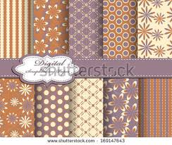 Flower Design For Scrapbook Set Flower Vector Paper Scrapbook Stock Vector 85248550 Shutterstock