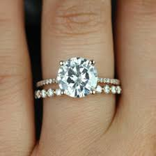 scalloped wedding band engagement rings collection gift ideas
