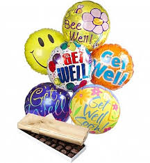 balloon delivery san jose get well balloon bouquets by gifttree