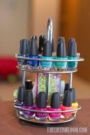 diy nail polish wall rack totally doing this i need to haha