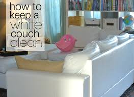 Best Way To Clean White Leather Sofa How To Keep A White Clean Frugal Edmonton
