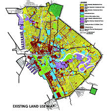 map use file existing land use map of manila 2017 jpg