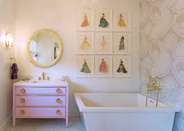girly bathroom ideas bathroom wall stencil ideas bathroom traditional with girly