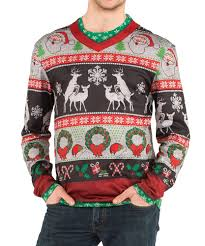 frisky deer sweater