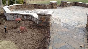 Concrete Paver Patio Designs by Tips Beautiful Backyard And Landscape With Techo Bloc Design