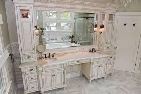Silver Bathroom Vanity Bathrooms Design Bathroom Vanity With Makeup Station Corner
