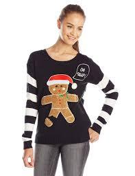 3d sweater oh snap 3d gingerbread sweater webetrendy com
