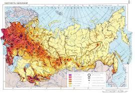 russia map by population soviet union population density maps soviet union